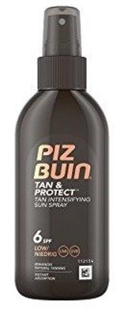 Piz Buin Tan & Protect SPF6 Spray przyspieszający opalanie 150ml