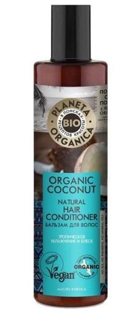 Planeta Organica BIO odżywka do włosów Coconut Oil 280ml