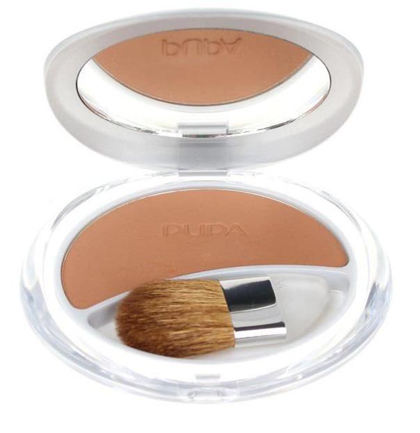 Pupa Silk Touch Compact Blush - Róż do policzków Odcień: 02, 7g