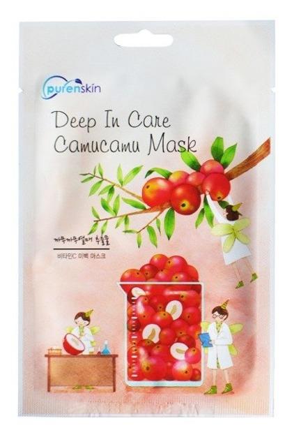 PurenSkin Deep In Care Camucamu Mask Odżywczo-rozjaśniająca maska w płachcie 23g