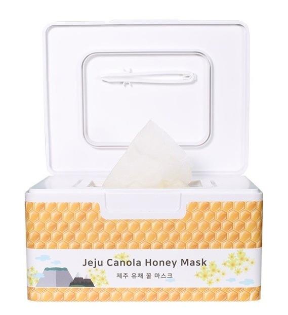 PurenSkin Jeju Canola Honey Mask Maseczki w płachcie 30szt