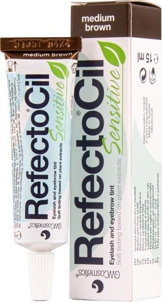 Refectocil Sensitive tint Farbka do brwi i rzęs Medium Brown 15ml