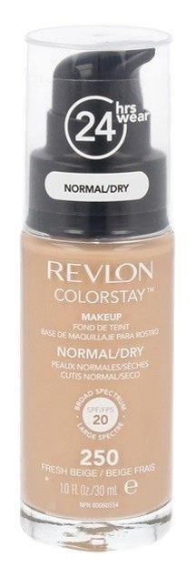 Revlon Colorstay 24Hrs Normal/Dry Skin - Podkład Z POMPKĄ do skóry suchej i normalnej 250 Fresh Beige