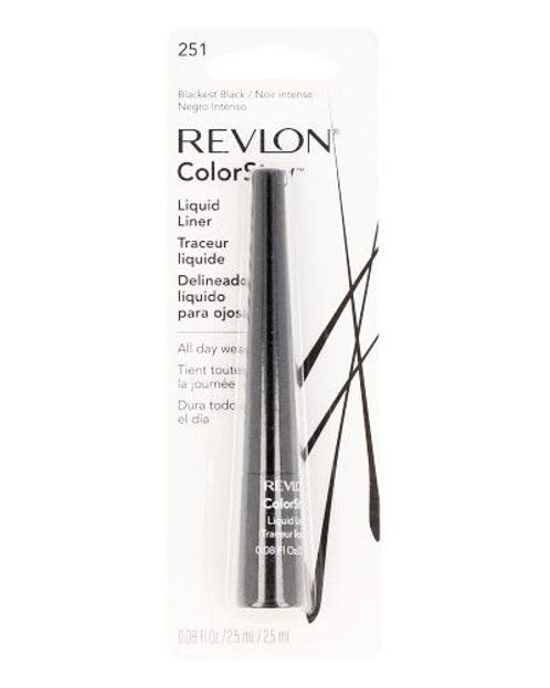 Revlon Colorstay Liquid Liner 251 Blackest Black-eyeliner