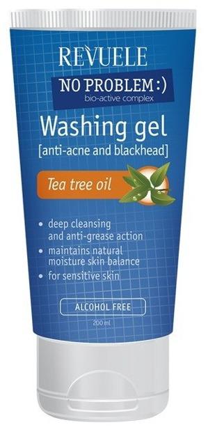 Revuele Washing Gel Tea Tree Oil Żel do mycia drzewo herbaciane 200ml