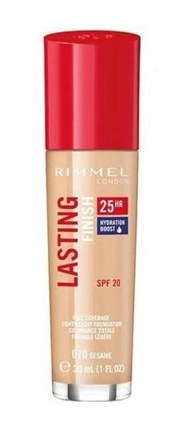 Rimmel Lasting Finish 25h Długotrwały podkład do twarzy 070 30ml