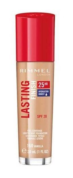 Rimmel Lasting Finish 25h Długotrwały podkład do twarzy 160 30ml