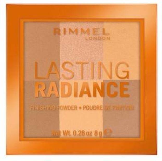 Rimmel Lasting Radiance Finishing Powder Rozświetlający puder do twarzy 002 8g