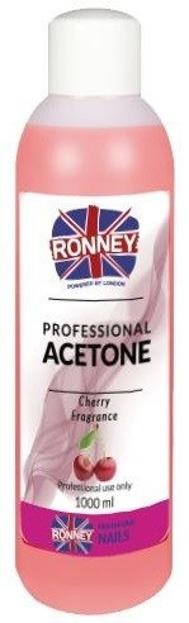 Ronney Professional Nail Acetone Cherry Aceton 1000ml