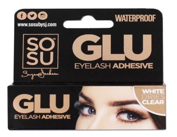 SOSU Glue Eyelash Advesive Clear Wodoodporny klej do sztucznych rzęs 5g