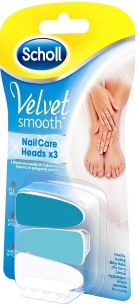 Scholl, Velvet Smooth Wymienne nakładki do elektronicznego systemu pielęgnacji paznokci