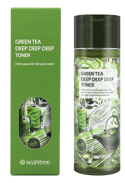 SeaNtree Green Tea Deep Deep Deep Toner Tonik do twarzy 180ml