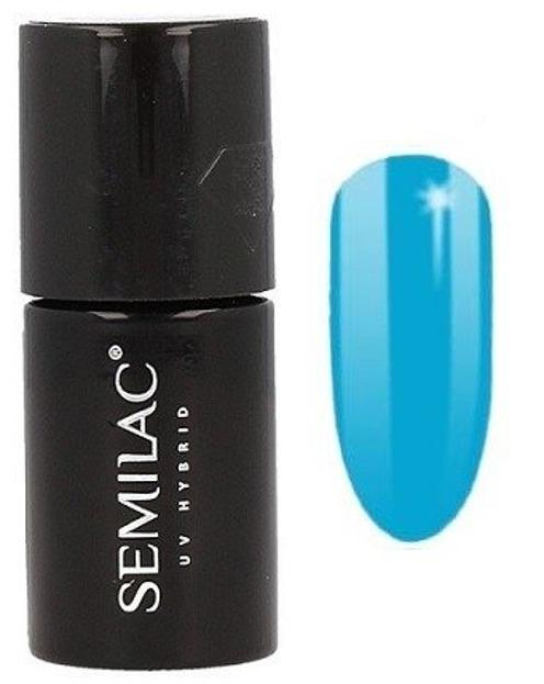 Semilac By Margaret Lakier hybrydowy do paznokci 523 Delicate Blue 7ml