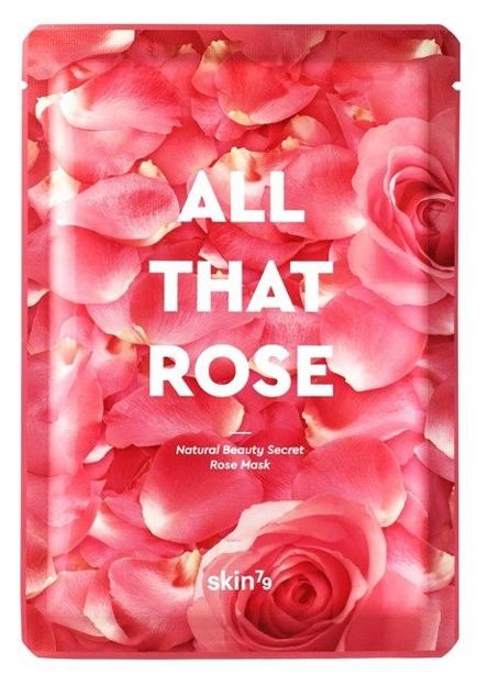 Skin79 ALL THAT ROSE Mask Różana maska w płachcie 25g