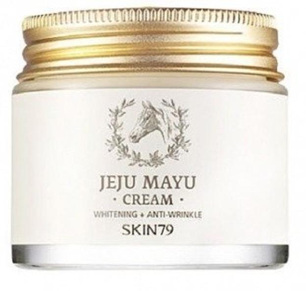 Skin79 Jeju Mayu Cream - Odżywczy krem do cery dojrzałej 70ml