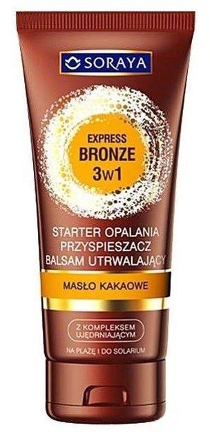 Soraya Express Bronze Przyspieszacz opalania Masło kakaowe 150ml