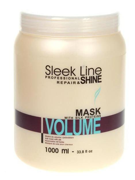 Stapiz Sleek Line Volume - Regenerująca maska do włosów cienkich, 1000ml