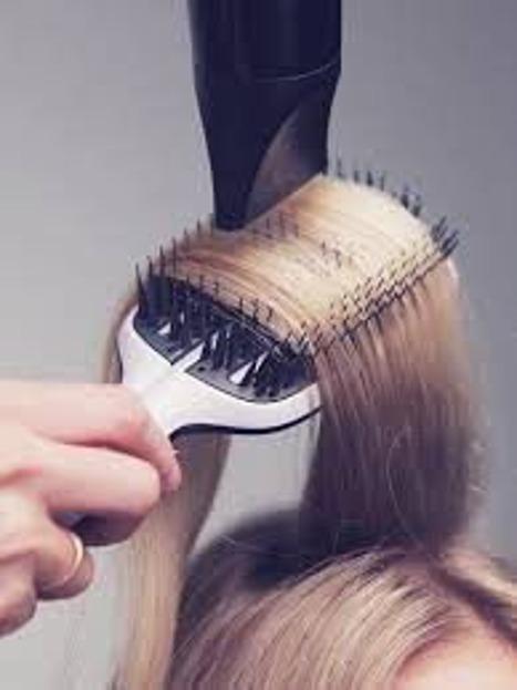 Tangle Teezer Blow Styling Hairbrush half paddle - szczotka do stylizacji i prostowania włosów