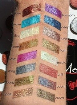 Tune Metallic(a) Soundtrack Foiled Eyeshadow Metaliczny cień do powiek Viva