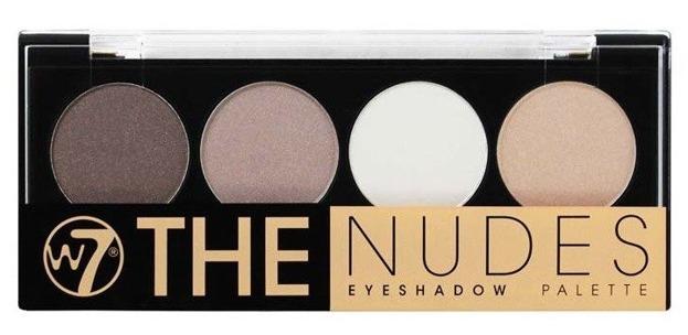 W7  The Nudes Eyeshadow Palette - Paleta 4 cieni do powiek 5,6 g