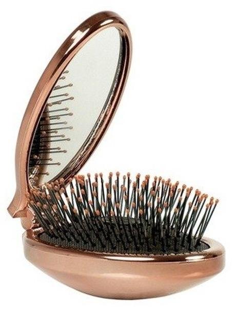 Wet Brush Szczotka do włosów MINI Pop Fold MINI-ROSE GOLD