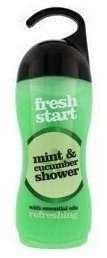 Xpel Fresh Start Shower Gel Żel pod prysznic Mint&Cucumber 400ml