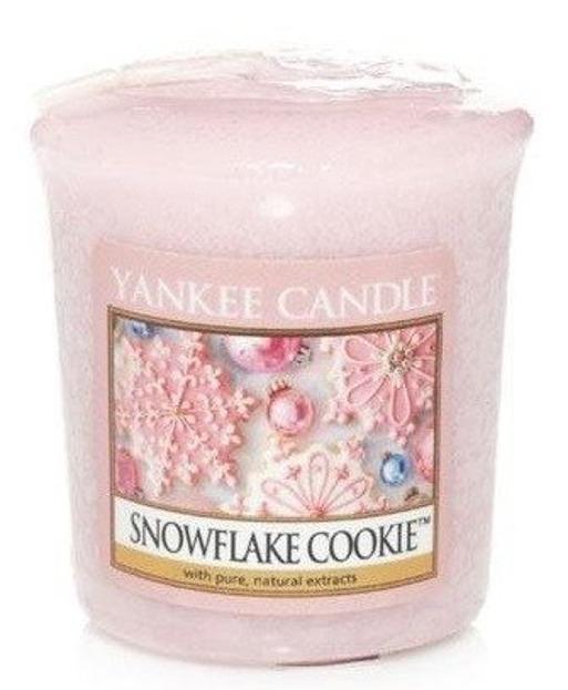 Yankee Candle Sampler Świeca Snowflake Cookie 49g