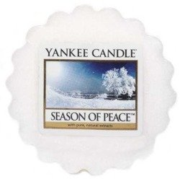 Yankee Candle Wosk Season Of Peace