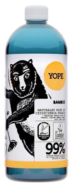 Yope Płyn do czyszczenia podłóg Bambus 1000ml