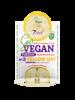 7Days GoVegan Smoothie Sheet Face Mask Tuesday Yellow Day Nawilżająca maska w płachcie 25g